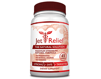 JetRelief jet lag supplement Review