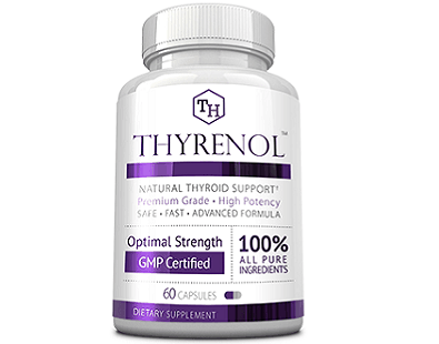 Thyrenol thyroid health supplement