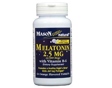 Mason Vitamins Melatonin 2.5 mg (Orange Flavor) Review