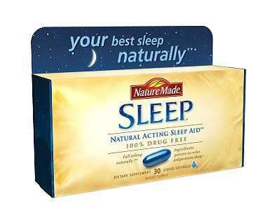 Nature Made Sleep insomnia supplement Review