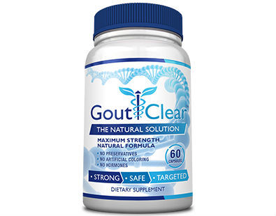 GoutClear gout supplement