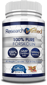 Research Verified's 100 % Pure Forskolin