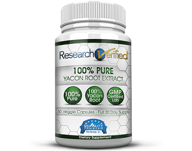 Research Verified Yacon Extract supplement