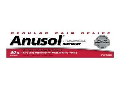 ANUSOL Hemorrhoidal Ointment Review