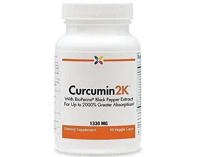 Curcumin2K turmeric supplement Review