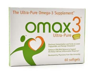 OMAX3 omega 3 fish oil supplement Review