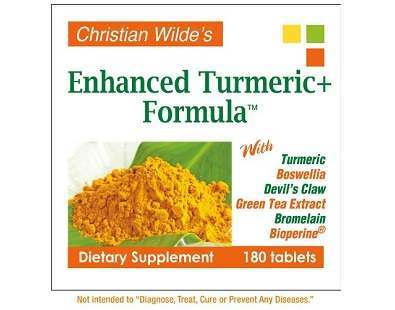 Christian Wilde's Enhanced Turmeric+ Formula supplement Review