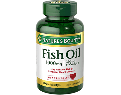 Nature's Bounty Fish Oil supplement Review