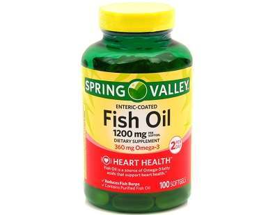 Spring Valley Fish Oil supplement Review