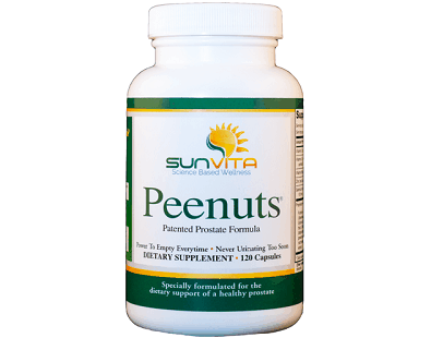 SunVita Nutrition Peenuts Patented Prostate Formula Review