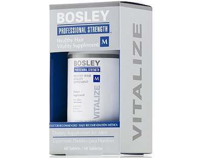 Bosley Healthy Hair Vitality Supplement for Men Review