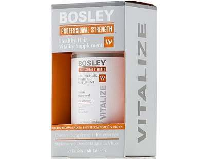 Bosley Professional Strength Healthy Hair Vitality Supplement for Women Review