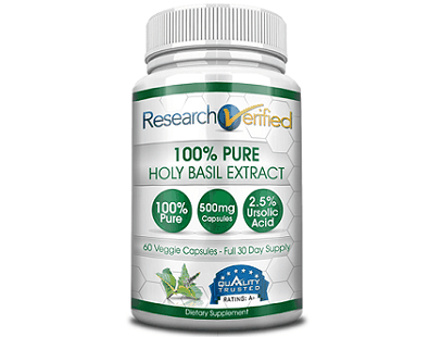 Research Verified Holy Basil supplement