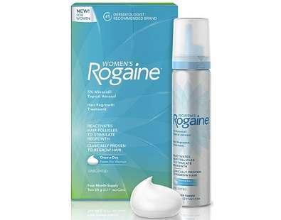 Women's Rogaine 5% Minoxidil Foam Review