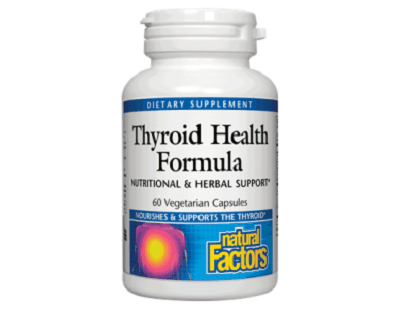 Natural Factors Thyroid Health Formula supplement Review