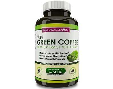 NaturalGenius Pure Green Coffee Bean Extract Review