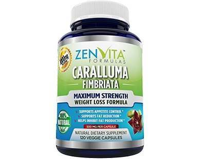 ZenVita Formulas Pure Caralluma Fimbriata Extract Review