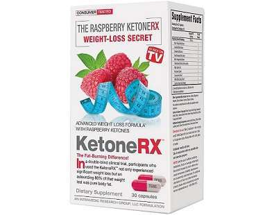Ketone-RX Advanced Weight Loss Formula supplement Review