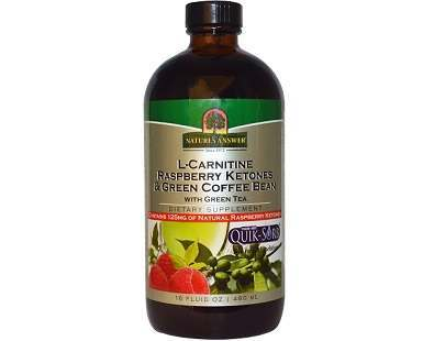 Nature's Answer L- Carnitine Raspberry Ketones Review