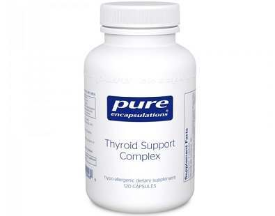 Pure Encapsulations Thyroid Support Complex Review supplement