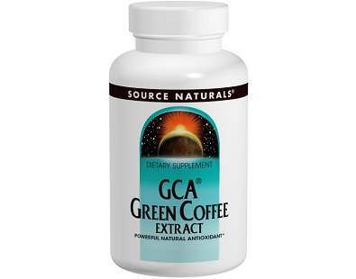 Source Naturals GCA Green Coffee Extract Review