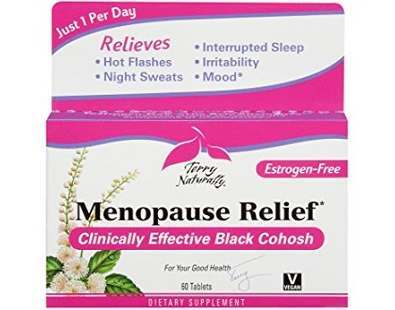 Terry Naturally Menopause Relief supplement