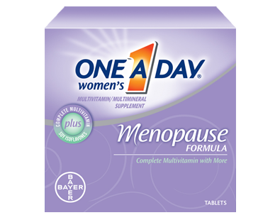 Bayer One A Day Women's Menopause Formula supplement Review