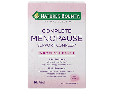 Nature's Bounty Complete Menopause Support Complex Review