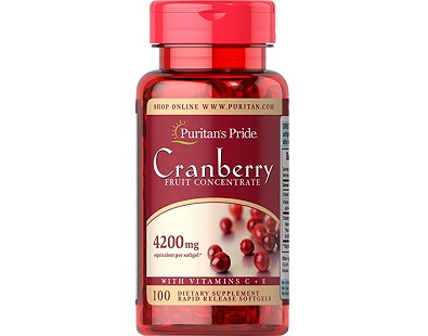 Puritan's Pride Cranberry Fruit Concentrate with C&E Review
