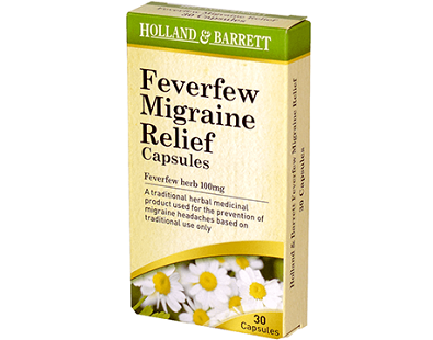 Holland & Barrett Feverfew Migraine Relief supplement Review