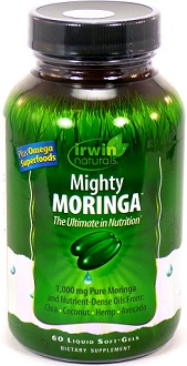 Irwin Naturals Mighty Moringa supplement Review