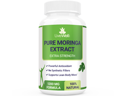 Live Well Labs Pure Moringa Extract supplement Review