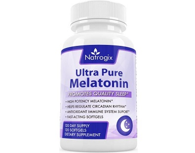 Natrogix Natural Ultra Pure Melatonin for insomnia Review