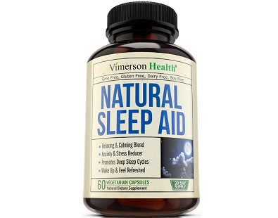 Vimerson Health Natural Sleep Aid supplement Review