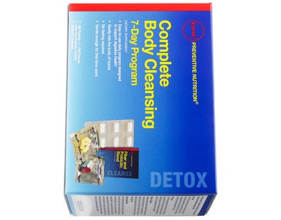 GNC Preventive Nutrition Complete Body Cleansing Program