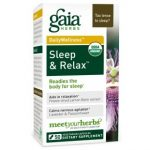 Gaia Herbs Sleep And Relax Supplement