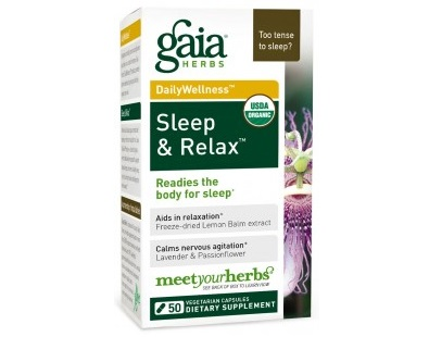 Gaia Herbs Sleep And Relax Review