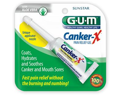 Sunstar GUM Canker-X Gel