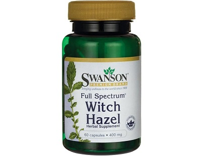 Swanson Full Spectrum Witch Hazel supplement Review
