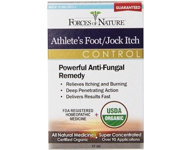 Forces of Nature Athlete's Foot Jock Itch Control