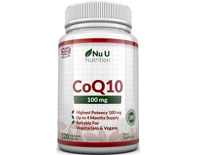 Nu U Nutrition CoQ10 supplement