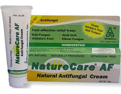 Rowell Laboratories NatureCare AF Natural Anti-fungal Cream