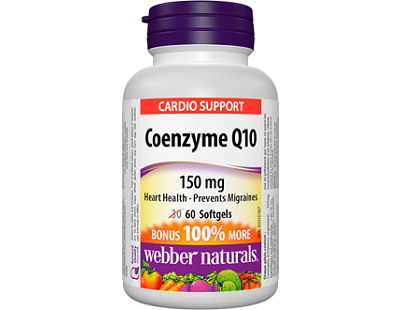 Webber Naturals Coenzyme Q10 Review