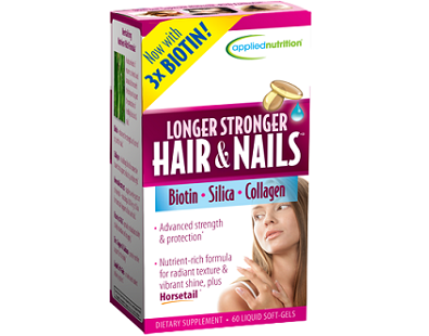 Applied Nutrition Longer Stronger Hair & Nails Review