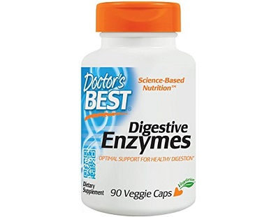 Doctor's Best Digestive Enzymes supplement