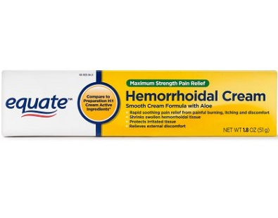Equate Maximum Strength Pain Relief Hemorrhoidal Cream Review