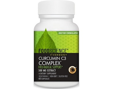 Food Science of Vermont Curcumin C3 Complex supplement Review