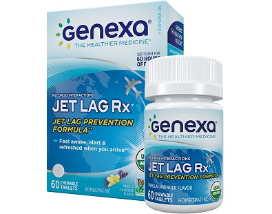 Genexa Jet Lag Rx tablets Review
