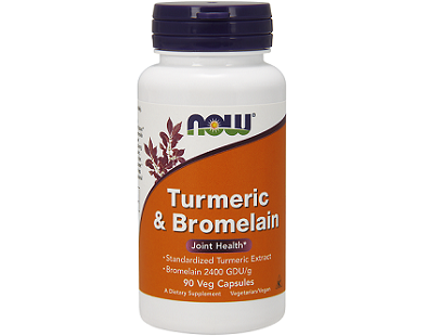 Now Turmeric and Bromelain supplement Review
