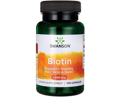 Swanson Vitamins Biotin Supplement